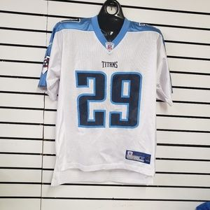 Tennessee Titans Chris Brown Reebok Jersey